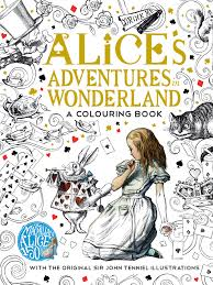 alice in wonderland color pages alice in wonderland book collection