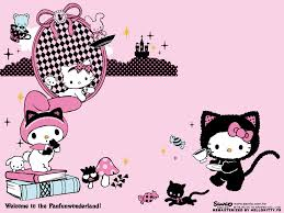 halloween stuff on black background pin free wallpapers tokidoki hello kitty wallpaper on pinterest