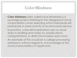 What Is Color Blind Racism Lesson 7 Optional Ethnicities And Color Blind Racism Ppt Download