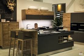 kitchen beautiful wooden breakfast bar nice the two level kitchen