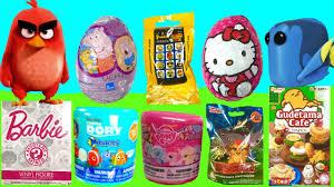 toy surprise chocolate egg blind bag hunt dory mashem u0026