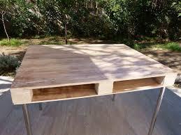 bureau palette bois design bahbecom industriel bureau en bois meuble metal et maison