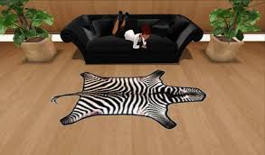 Genuine Zebra Rug Zebra Fur Rug Roselawnlutheran
