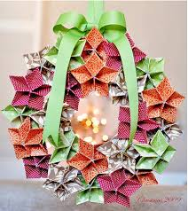 mareri kusudama chirstmas origami ornaments