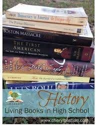 high school history book living books in high school celebrate simple