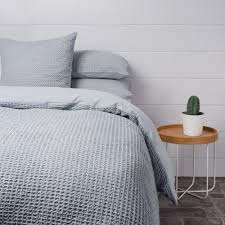 Original Duvet Covers Bedding Set Grey Waffle Bedding Shocking Light Grey Linen Duvet