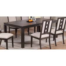 wood dining room tables and chairs standard dining tables dining room rc willey