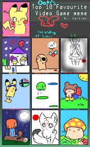 Top 10 Video Game Memes - le video game meme by doki i on deviantart