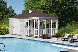Shed Designs With Porch Hip Roof Sheds From Riehl Quality Storage Barns Pa