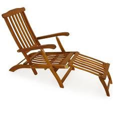 chaise longue transat chaise longue en bois transat bain de soleil jardin