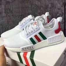 adidas x gucci adidas nmd r1 boost other adidas nmd x gucci white color men