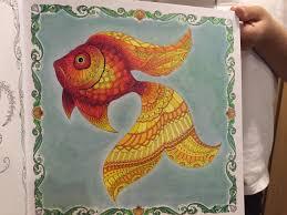 johanna basford lost ocean coloring inspiration johanna basford
