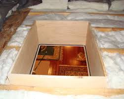 insulated attic access hatch meets new codes