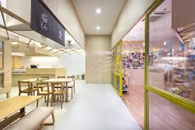 kki sweets and the little drom store produce workshop archdaily