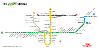 Ttc Subway Map by How To Get Around Toronto With Subway U0026 Streetcars For Two Please