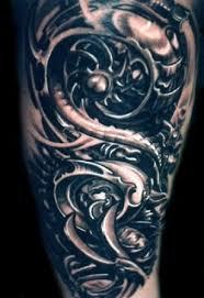 biomechanical flash arts tattoos