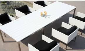 White Patio Dining Sets by Imposing Design White Outdoor Dining Table Pretty Outdoor