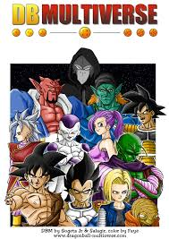 dragon ball fan manga dragon ball multiverse massive fan made manga dragon ball