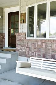 White House With Black Trim Our New Sprawling Front Porch Swing Reader Poll On What Color To