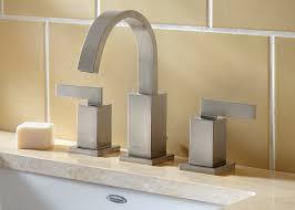 Small Bathroom Faucets American Standard Press Sleek Minimalist Design Lines