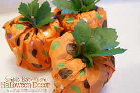 halloween tissue paper crafts creative ideas with pumpkins a mom u0027s take