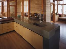 Kitchen Countertops Options Ideas by Kitchen Brilliant Kitchen Countertops Ideas Cream Color Concrete