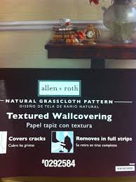 Allen Roth Wallpaper by Diy Grasscloth Wallpaper My First Wallpapering Experience