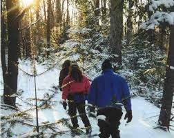 Vermont wildlife tours images Vermont cross country skiing snowshoeing tours trails and vacations jpg