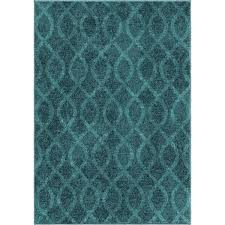 Coil Rug Carolina Weavers Brighton Collection Coil Blue Area Rug Free