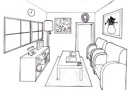 draw room dream room in 1 point perspective lessons tes teach high
