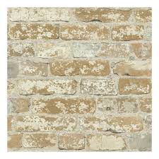 faux brick peel u0026 stick wallpaper wall decal