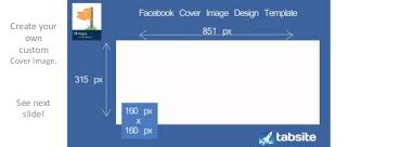 facebook page cover image template in powerpoint
