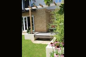 contemporary townhouse garden outerspace