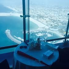 sky tea at the burj al arab