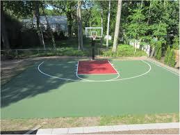 backyards beautiful basketball court backyard cost backyard