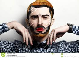 pop art makeup man image gallery hcpr
