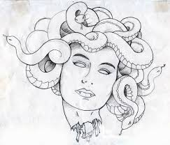 medusa tattoo designs bing images coloring pages for adults