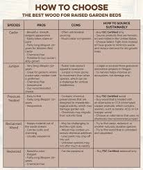 Best Raised Garden - what is the best wood to use for raised garden beds