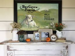 How To Decorate Living Room On A Budget by Bryarton Farm Fall Farmhouse Entry U0026 Living Room Tour