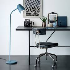Anglepoise Floor Lamp Blue Floor Lamp Decorating With Bright Bold Colors Plus Lamps