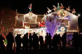 christmas light display to music near me sonoma county families continue the holiday lights tradition