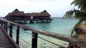 overwater bungalow at sofitel moorea la ora beach resort tahiti