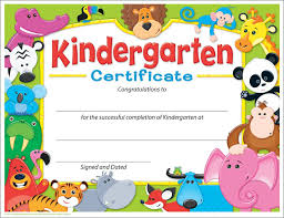kindergarten graduation cards kindergarten graduation certificate templates d templates