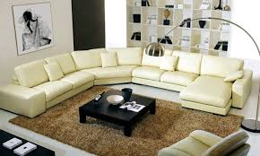 Large L Shaped Sectional Sofas Large Modern Leather Sectional Sofa 1025theparty