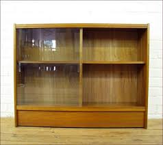 Vintage Bookcase With Glass Doors Vintage Bookcases With Glass Doors Home Design Ideas