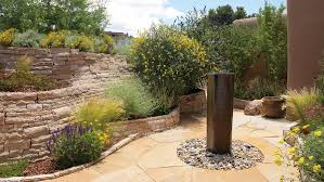 Water Features Backyard by Great Garden Fountain Ideas Sunset