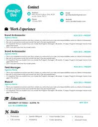 Brand Ambassador Job Description Resume by Resume Designs Brand Ambassador World
