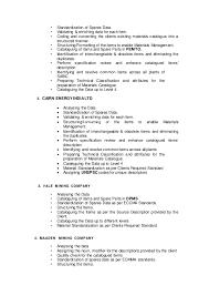 managment resume material master data management resume