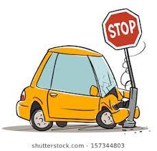 animated wrecked car cartoon car crash images stock photos vectors shutterstock