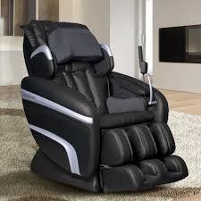 Black Leather Recliner Chair Titan Osaki Tan Faux Leather Reclining Massage Chair Os 3700cream